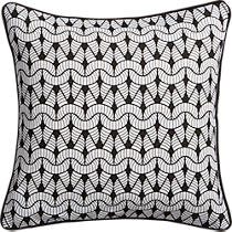"purl knit 16"" pillow"