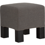 quad greige stool