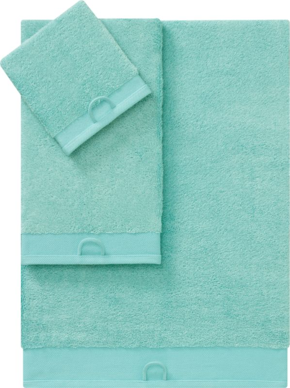 rayon bamboo aqua bath towels