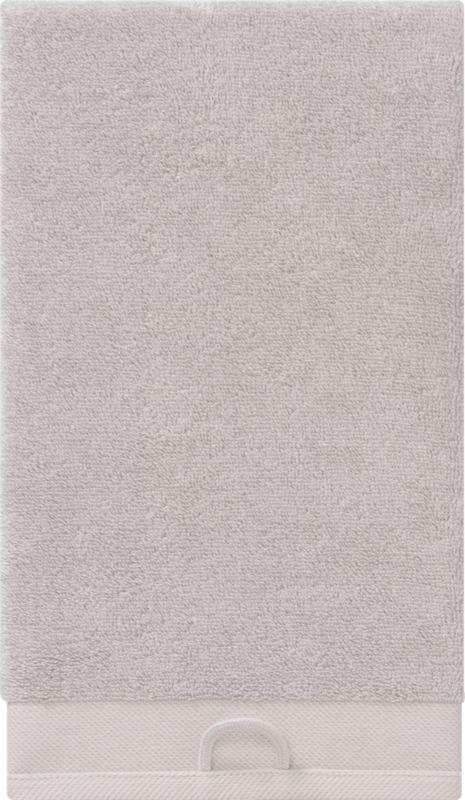 rayon bamboo oat hand towel