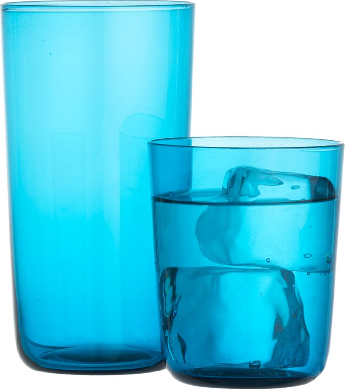 ready blue barware