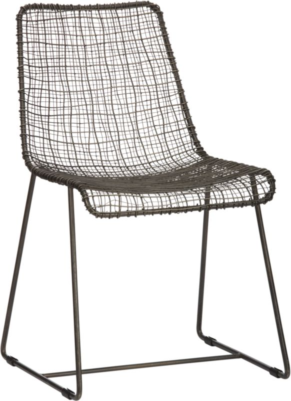 reed zinc chair