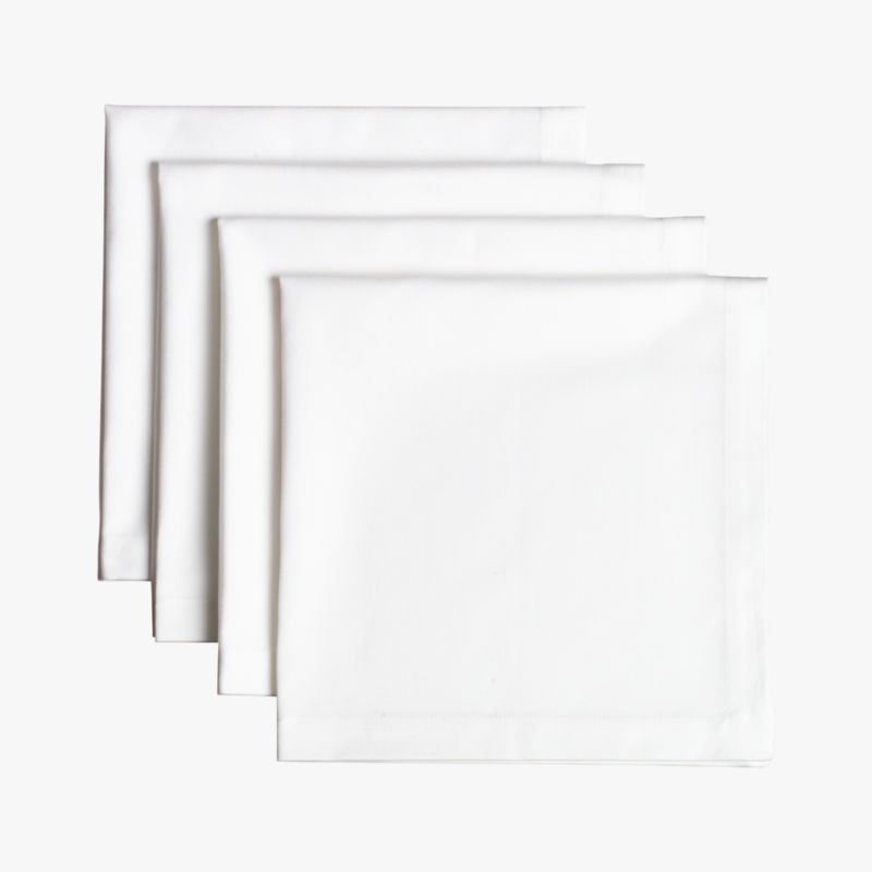 restaurant napkins set of four in table linens | CB2