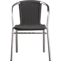 rex grey arm chair