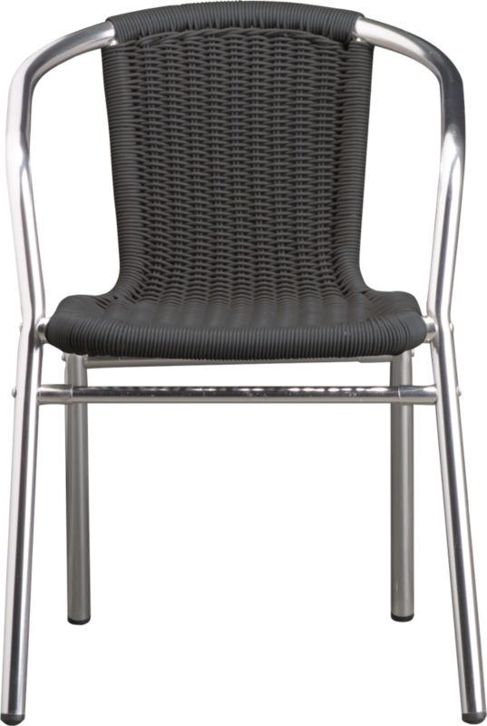 rex grey dining chair