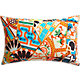 "riad 18""x12"" pillow with feather-down insert"