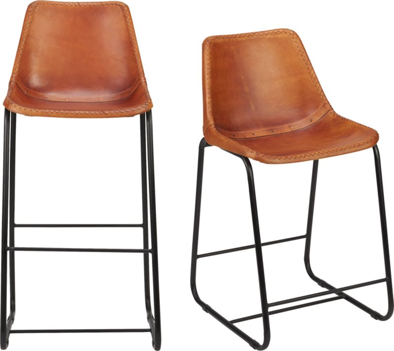 roadhouse leather bar stools CB2 : roadhouse leather barstools from www.cb2.com size 598 x 598 jpeg 38kB