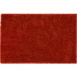 roper orange shag rug 5'x8'