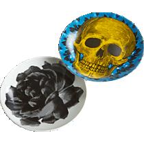 cornelius and rosie posie appetizer plates