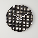 rough cut wall clock