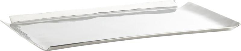 aluminum envelope rectangular platter
