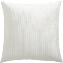"sari white 16"" pillow"