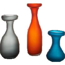seaglass vases