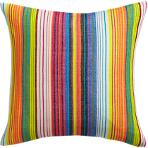 "serapa embroidered 18"" pillow"