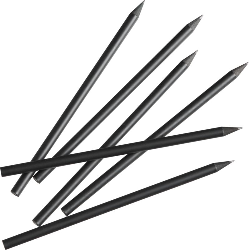 shadow pencils set of six