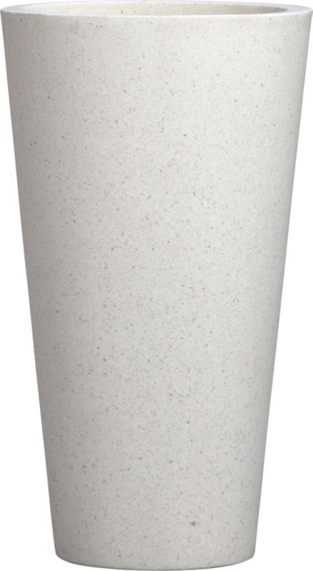 shore polyterrazzo small planter