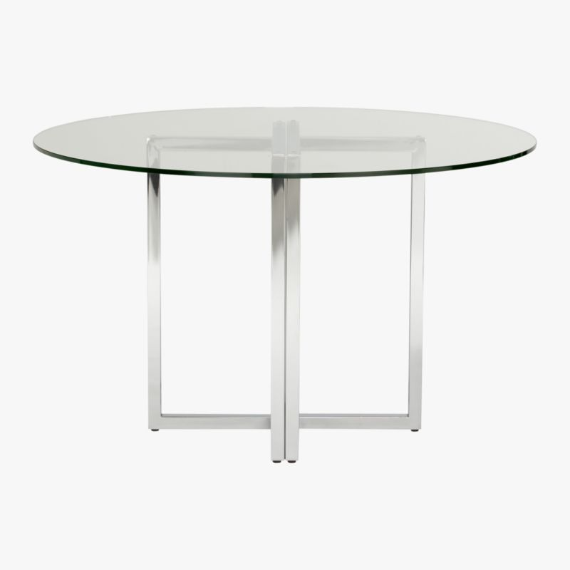 silverado round dining table CB2 : SilveradoTableRoundS7 from www.cb2.com size 800 x 566 jpeg 15kB