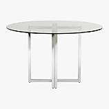silverado round dining table