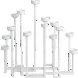 skyline candle holder