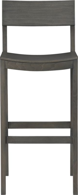 "slide grey 30"" barstool"