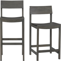 slide grey bar stools