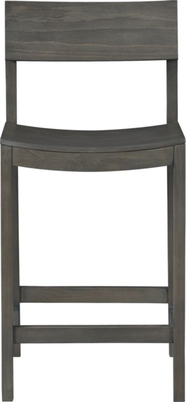 "slide grey 24"" counter stool"
