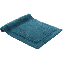 smith blue-green bath mat