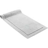 smith silver grey bath runner