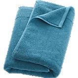 smith blue-green bath towel