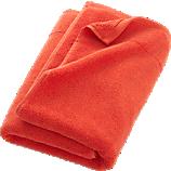 smith orange bath towel