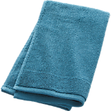 smith blue-green hand towel