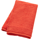 smith orange hand towel