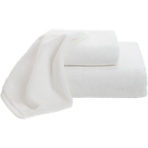 smith white bath towels