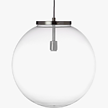 soneca frosted pendant light
