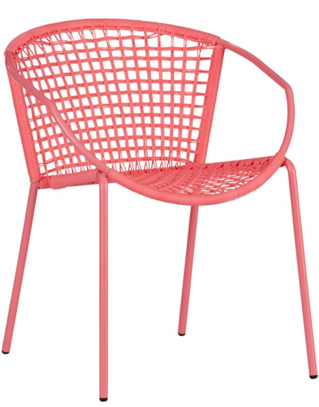 sophia hot pink dining chair