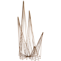 spike brass wire object