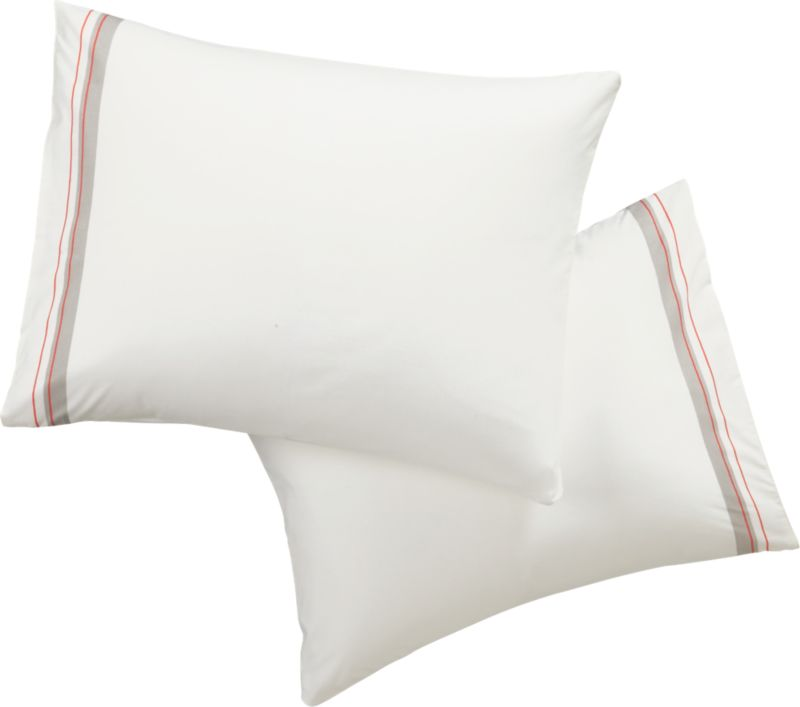 set of 2 standard splash shams