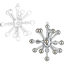 glass sputnik small ornaments