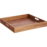 square walnut tray