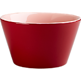 stack red-pink bowl