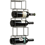 stacked wine storage