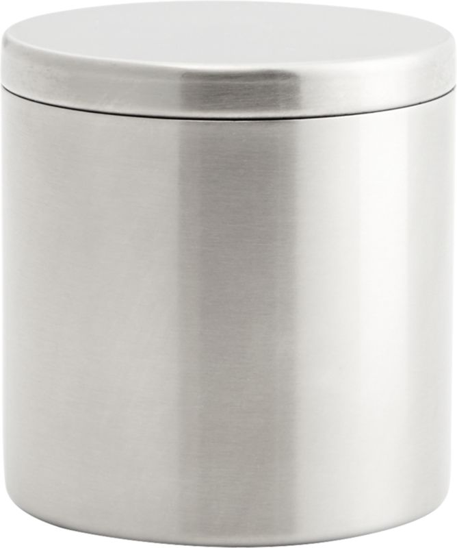 Stainless Steel Canister With Lid Cb