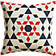 "star burst 20"" pillow with feather insert"