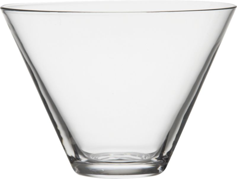 "<span class=""copyHeader"">the un-goblet. </span>  Let nothing come between you and the spirits. Stemless handblown new vintage serves 'tinis. Pure shape, simple taper.<br /><br /><NEWTAG/><ul><li>Handblown glass</li><li>Cool-cut rim</li><li>Hand wash recommended</li></ul>"