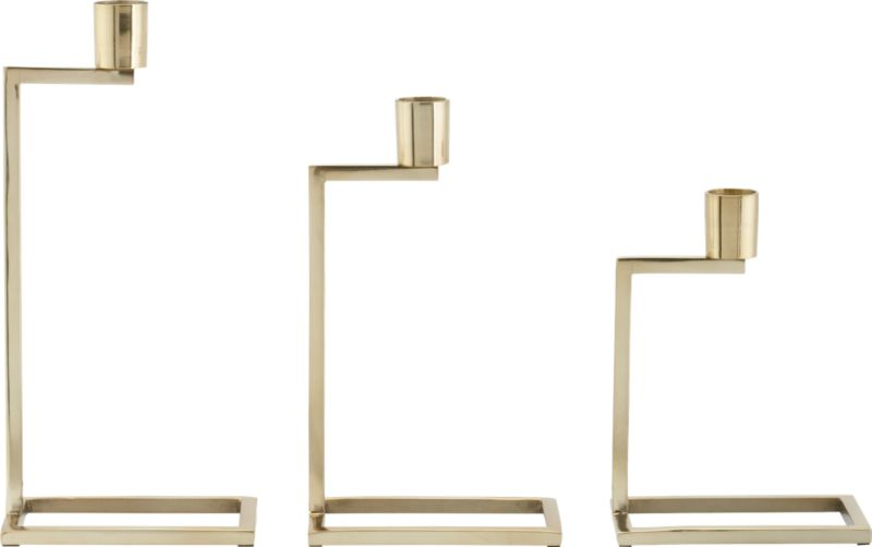 3-piece step up candle holder set