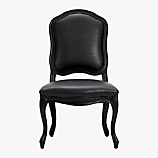stick around black side chair