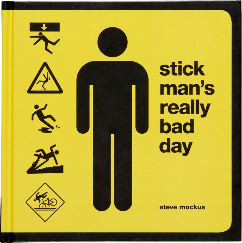 """stick man's really bad day"""