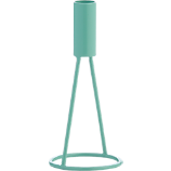 stilt small aqua candle holder