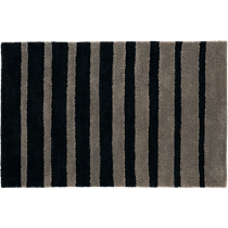 stripe shag rug