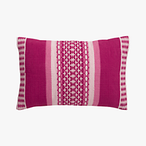 saudades magenta 18&quot;x12&quot; pillow